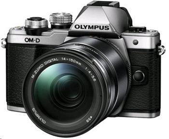 Olympus E-M10 Mark II 14-150 kit silver/black - V207054SE000