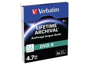 DVD-R Verbatim M-Disc 4,7 GB 4x slim box, 3ks/pack - 43826