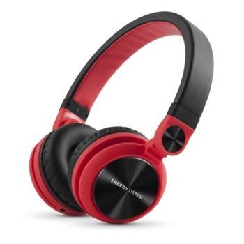ENERGY DJ2 Red, stylová DJ sluchátka, skládatelná, otočná, odnímatelný kabel, 108 dB,3,5mm - 424597