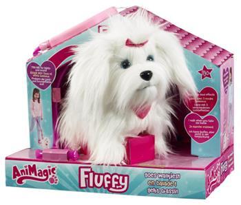 Pejsek Fluffy na vodítku - 31150