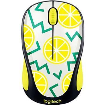 Logitech Bezdrátová myš M238 Play Collection - LEMON - 910-004713