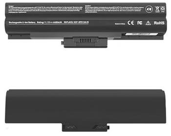 Qoltec Long Life Notebook Battery Sony Vaio VGP-BPS13 | 4400mAh | 11.1V - 52560.VGP-BPS13