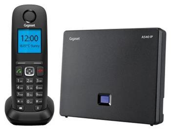 Bezdrátový tel. Siemens Gigaset A540 IP - A540 IP