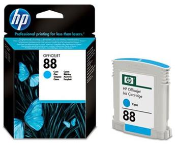 HP C9386A Ink Cart Cyan No. 88 pro OJ K550 (9 ml) - C9386AE