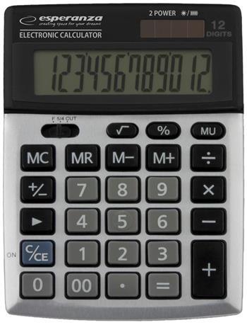 Esperanza ECL102 NEWTON Elektronická stolní kalkulačka - ECL102