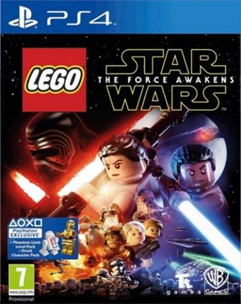 Lego Star Wars: The Force Awakens PS4 + Star wars TFA Blu-ray film - 5051892199056