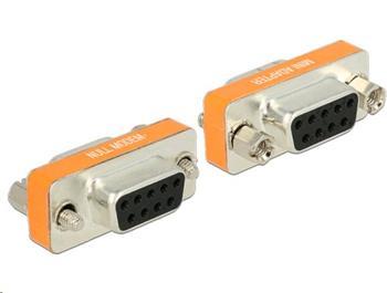 Delock adaptér Null Modem Sub-D 9 pin samice / samice - 65570