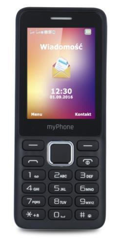Mobilní telefon myPhone 6310, černý - myPhone 6310