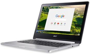 """Acer Chromebook R13""""T/MT8173/4G/64GB/stříbrný - NX.GL4EC.002"""