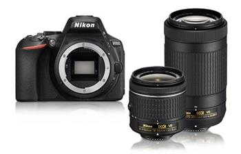 NIKON D5600 + AF-P 18-55 VR + 70-300VR - VBA500K004