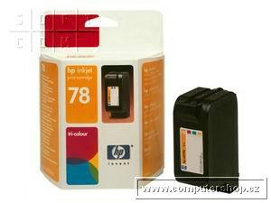 HP C6578A barevná náplň č.78, DeskJet 9x0,3820,612x High Capacity - C6578AE