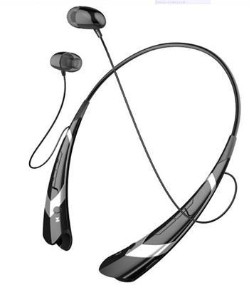 ART AP-B21-S Bluetooth sluchátka s mikrofonem černo-stříbrná (RING) sport - SLART AP-B21-S