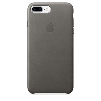 Apple iPhone 7 Leather Case Storm Gray - mmy12zm/a