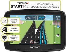 TomTom START 42 Europe LIFETIME mapy - 1AA4.002.01