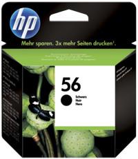 HP C6656A černá náplň č.56, DeskJet 5150,5550,5652,5850,96xx - C6656AE