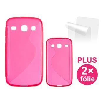 CONNECT IT S-COVER pro Samsung Galaxy Core Duos (i8262) ČERVENÉ - CI-366