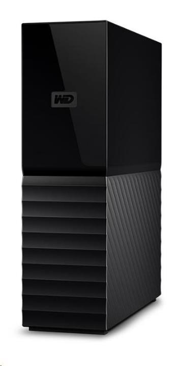 "WD My Book 8TB Ext. 3.5"" USB3.0 (single drive) - WDBBGB0080HBK-EESN"
