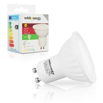 Whitenergy LED žárovka SMD2835 MR16 GU10 5W studená bílá - 10206