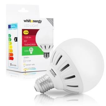 WE LED žárovka SMD2835 G95 E27 12W bílá mléčná - 10079