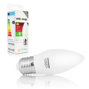 WE LED žárovka SMD2835 C37 E27 5W teplá bílá - 10213