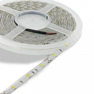 Whitenergy LED páska voděodolná 5m | 60ks/m | 3528 | 4,8W/m | 3000K teplá bílá bez kon - 08379