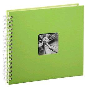 Hama album klasické spirálové FINE ART 28x24 cm, 50 stran, kiwi, bílé listy - 2115