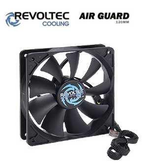 Revoltec ventilátor ''AirGuard'', 120x120x25mm - RL039