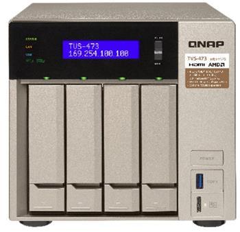 QNAP TVS-473-8G (2,1G/8GB RAM/4xSATA) - TVS-473-8G