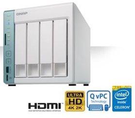 QNAP TS-451A-4G (1,6GHz/4GB RAM/4xSATA) - TS-451A-4G
