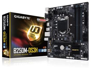 GB GA-B250M-DS3H, Intel B250, 1151, mATX - GA-B250M-DS3H