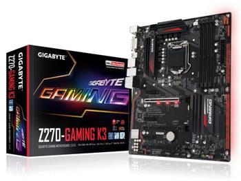 GB GA-Z270-Gaming K3, Intel Z270, 1151, ATX - GA-Z270-Gaming K3