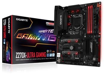 GB GA-Z270X-Ultra Gaming, Intel Z270, 1151, ATX - GA-Z270X-Ultra Gaming