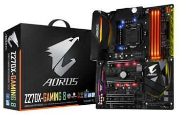 GB GA-Z270X-Gaming 8, Intel Z270, 1151, ATX - GA-Z270X-Gaming 8