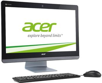 "Acer Aspire CA24I/ AiO 23,8""/M3215U/ 4GB/ 16GB/Intel HD/ DVD/ChromeOS - DQ.Z0EEC.001"