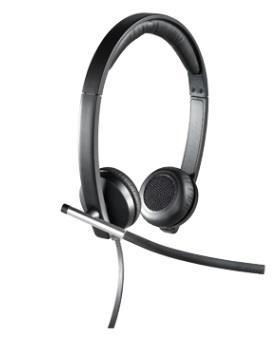 Logitech H650e Sluchátka USB Stereo - 981-000519