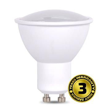 Solight LED žárovka, bodová , 3W, GU10, 3000K, 260lm, bílá WZ314A - WZ314A