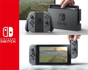 Nintendo Switch Grey - NSH001