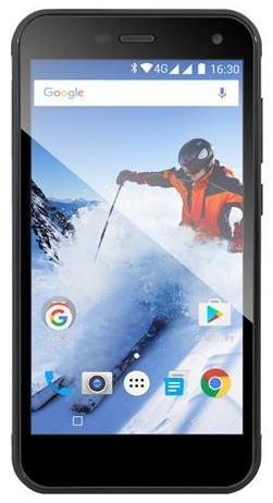 EVOLVEO StrongPhone G4, vodotěsný odolný Android Quad Core smartphone - SGP-G4-B