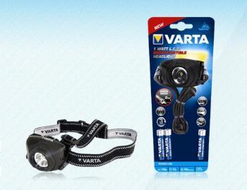 VARTA Indestructible 1W LED Head Light outdoor čelovka, 100m + 3xAAA baterie - LAVA 17731