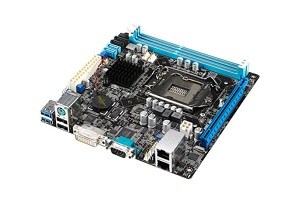 ASUS P9D-I, soc.1150, C222, 2x DDR3 1600/1333 UDIMM s ECC, 2 x Intel® I210AT, Mini ITX - 90SB03I0-M0UAY5