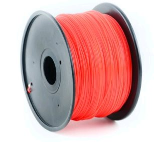 Filament GEMBIRD, PLA, 1,75mm, 1kg, červená - 3DP-PLA1.75-01-R