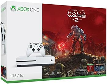 XBOX ONE S 1 TB + 1 x hra (Halo Wars 2 Ultimate Edition) - 234-00137