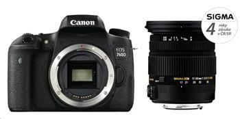 Canon EOS 760D + SIGMA 17-50/2.8 EX DC OS HSM - 760D + 17-50