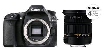 Canon EOS 80D + SIGMA 17-50/2.8 EX DC OS HSM - 80D + 17-50