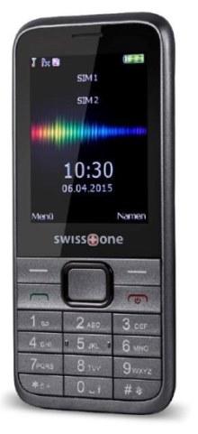 Mobilní telefon Swisstone SC560 (Dual SIM), šedá - SC560GR