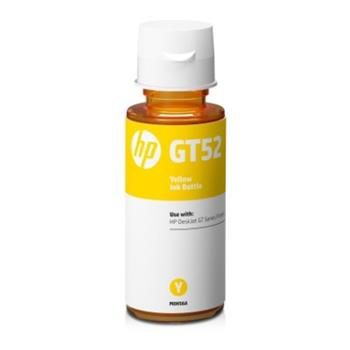 HP GT52 Yellow Original Ink Bottle, M0H56AE - M0H56AE