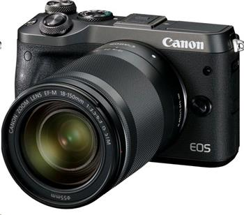 Canon EOS M6 Black + EF-M 18-150 IS STM - 1724C022