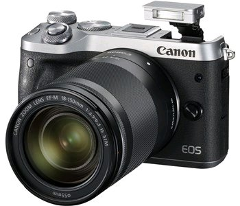 Canon EOS M6 Silver + EF-M 18-150 IS STM - 1725C022