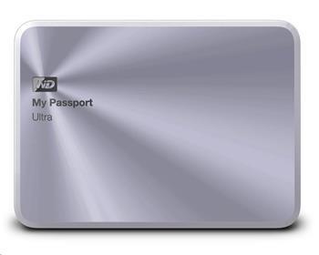 "WD My Passport ULTRA METAL 4TB 2,5"" USB3.0, stříbrný - WDBEZW0040BSL-EESN"