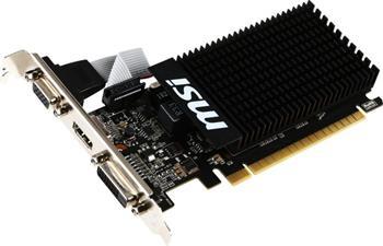 MSI GeForce GTX 710 2GD3H H2D / PCI-E / 2GB DDR3 / HDMI, DVI - GT 710 2GD3H H2D
